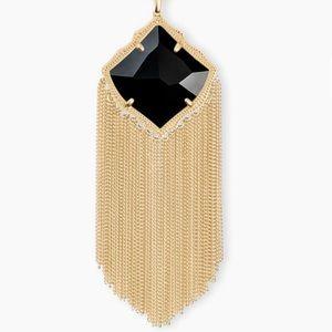 KENDRA SCOTT 🖤 Kingston Necklace Black Opaque